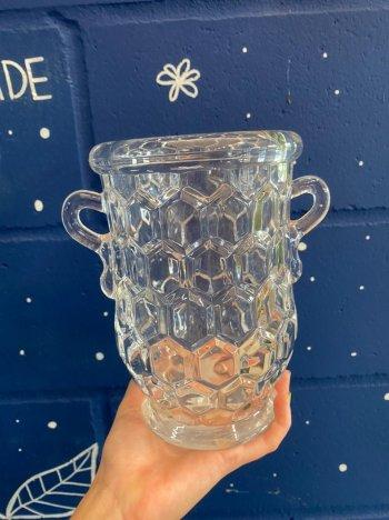 Vaso de vidro cód 0784/27
