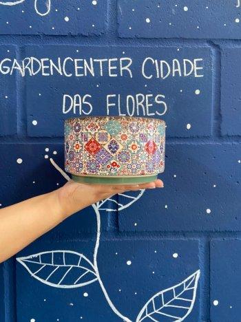 Vaso de cerâmica para plantas