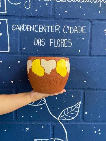 Cachepo ceramica t130 design